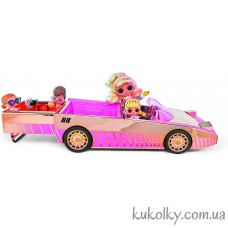 Кабриолет с куклой ЛОЛ (L.O.L. Surprise! Car-Pool Coupe with Exclusive Doll MGA)