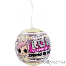 Пасхальный шар ЛОЛ Весенний сюрприз (L.O.L. Surprise! Spring Bling Limited Edition Doll LOL)