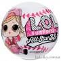 Бейсбол Спаркли ЛОЛ шар розовый