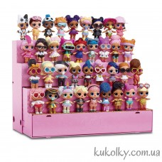 Модный стенд-подиум ЛОЛ (L.O.L. Surprise Pop-Up Store Doll Display Case)