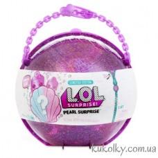 Большой шар ЛОЛ жемчужный вторая волна (L.O.L. Surprise LOL Pearl Surprise-Style 2 Unwrapping Toy)