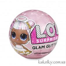 Блестящий шар ЛОЛ Глиттер (L.O.L. Surprise! Glam Glitter Series LOL)