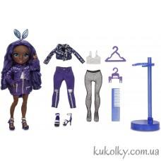 Индиго кукла Рейнбоу Хай Кристал Бейли (Rainbow High Krystal Bailey Fashion Doll MGA)