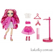 Ярко розовая кукла Рейнбоу Хай Стелла Монро (Rainbow High Stella Monroe Fuchsia Fashion Doll MGA)