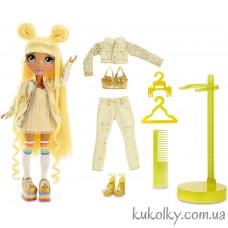 Желтая кукла Рейнбоу Хай Санни Медисон (Rainbow High Sunny Madison Yellow Fashion Doll MGA)