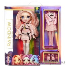 Розовая кукла Рейнбоу Хай Белла Паркер (Rainbow High Bella Parker Pink Fashion Doll MGA)