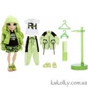 Кукла Рейнбоу Хай Джейд Хантер (зеленая)