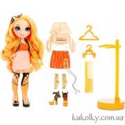 Кукла Рейнбоу Хай Поппи Роуэн (оранжевая)