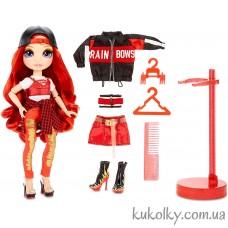 Красная кукла Рейнбоу Хай Руби Андерсон (Rainbow High Ruby Anderson Red Fashion Doll MGA)