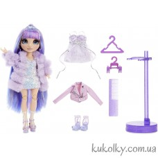 Фиолетовая кукла Рейнбоу Хай Вайлет Виллоу (Rainbow High Violet Willow Purple Fashion Doll MGA)