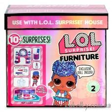 Кукла ЛОЛ Королева Независимость серии Стильный интерьер (L.O.L. Surprise! Furniture Backstage with Independent Queen MGA)
