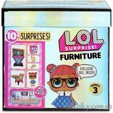 Кукла ЛОЛ школьный класс Учительницы серии Стильный интерьер (L.O.L. Surprise! Furniture Classroom with Teacher's Pet MGA)