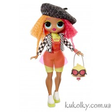 Кукла ЛОЛ Леди Неон (L.O.L. Surprise! O.M.G. Neonlicious Fashion Doll with 20 Surprises MGA)