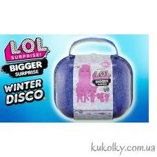 Большой чемодан ЛОЛ Зимнее диско (L. O. L. Bigger Surprise Winter Disco)