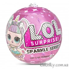 Блестящий шар ЛОЛ сияющий сюрприз Спаркл (L.O.L. Surprise! Glitter Sparkle Series A LOL)