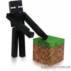 Эндермен фигурка Майнкрафт (Minecraft Core Enderman Action Figure)