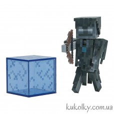 Стрей Зимогор фигурка Майнкрафт (Minecraft Stray Action Figure)