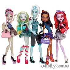 Куклы Монстер Хай Танцевальный класс набор из 5