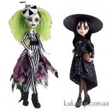Куклы Монстер Хай Битлджус и Лидия Дитц (Monster High Beetlejuice & Lydia Deetz Skullector Doll Mattel)