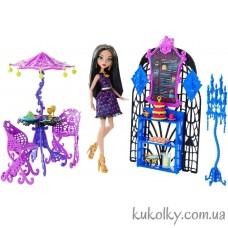 Кукла Монстер Хай Клео де нил с мебелью Крик и Сахар