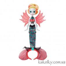 Кукла Лагуна Монстро Трансформация (Ghoul To Mermaid Lagoona Blue Transformation Doll)