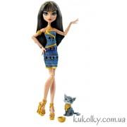 Кукла Клео де Нил с котенком