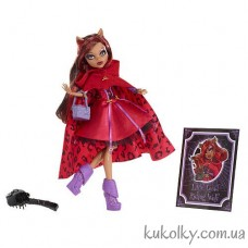 Scarily Ever After Doll Little Dead Riding Clawdeen Wolf