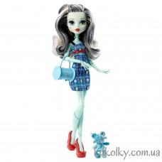 Кукла Monster High Frankie Stein Ghoul´s Beast Pet