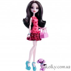Кукла Monster High Draculaura Ghoul´s Beast Pet