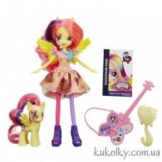 Кукла Флаттершай Май Литл Пони с гитарой и пони