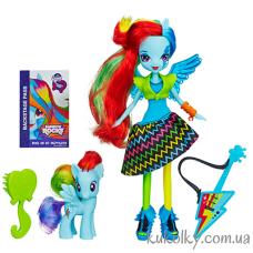 Кукла Май Литл Пони Радуга Деш с гитарой и пони