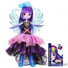 Кукла Май Литл Пони Твайлайт Спаркл в платье делюкс (Equestria Girls Rainbow Rocks Twilight Deluxe Dress)