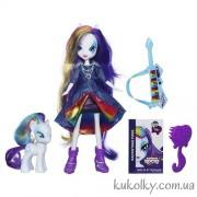 Кукла Рарити с пони и гитарой