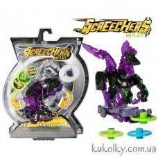 Дикие Скричеры машинка трансформер конь пегас Найтвижн (Knight Vision Screechers wild Level 2)