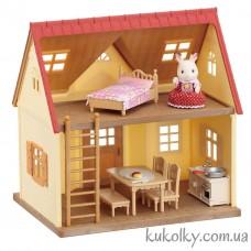 Уютный коттедж Шоколадного Кролика (Sylvanian Families Red Roof Cozy Cottage)