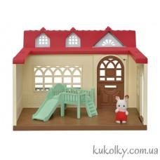 Малиновый Дом кролика Сильвания Фемилис (Sylvanian Families Sweet Raspberry Home)