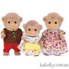 Сильвания Фемилис Семья обезьянок (Sylvanian Families Mango Monkey Family)
