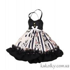 Платье со зверюшками для куклы Пуллип, Блайз