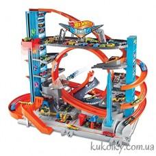 Городская парковка Ультимэйт с акулой Хот Вилс (Hot Wheels City Ultimate Garage)