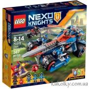 Конструктор 70315 LEGO Nexo Knights Устрашающий разрушитель Клэя