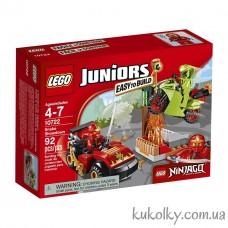 Конструктор LEGO Juniors 10722 Схватка со змеями.