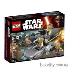 Конструктор LEGO Star Wars 75131 Боевой набор Сопротивления.