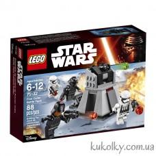 Конструктор LEGO Star Wars 75132 Боевой набор Первого Ордена