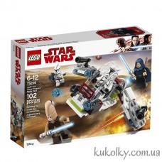 Конструктор LEGO Star Wars 75206 Боевой набор джедаев и клонов-пехотинцев