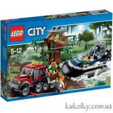 Конструктор LEGO City 60071  Полицейский корабль на воздушной подушке