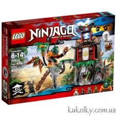 Конструктор LEGO® NINJAGO 70604 Остров тигриных вдов