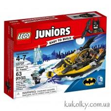 Конструктор LEGO Juniors 10737 Бэтмен против Мистера Фриза.