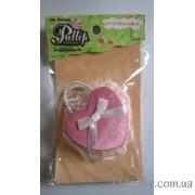 Розовая сумочка для куклы Пуллип