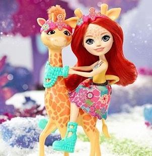 Купить жирафа Энчантималс Украина