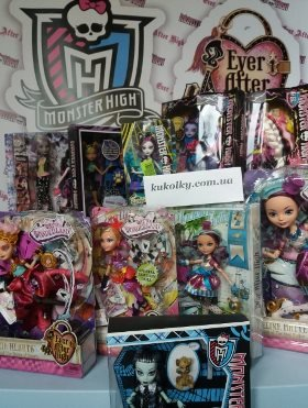 Monster High and Ever After High интернет магазин украина